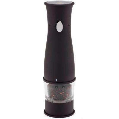 Artesio Soft Touch Electric Pepper Mill and Grinder, BPA-Free