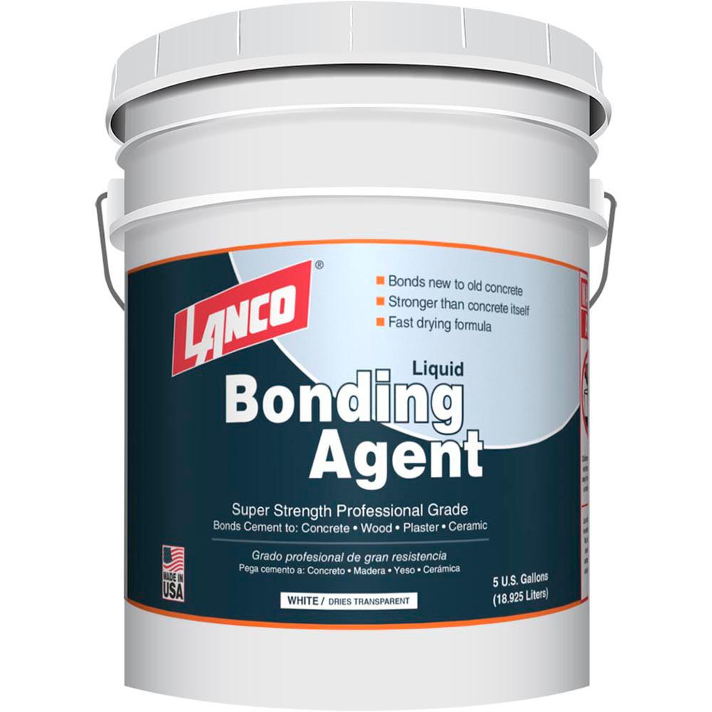 Lanco 5 Gal Professional Grade High Solids White Bonding Agent Cb900 2 The Home Depot