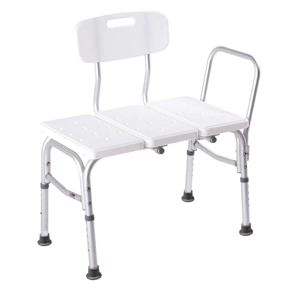 Carex Health Brands Transfer Tub Seat-FGB15411 0000 - The Home Depot