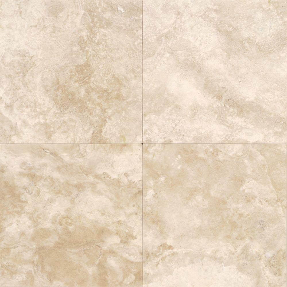 Daltile Travertine Torreon 12 In X 12 In Natural Stone
