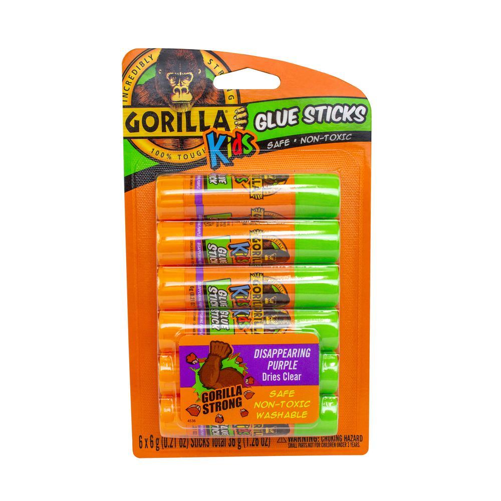 Gorilla Gorilla 6-6g School Glue Sticks (6-Pack)