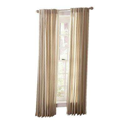Semi Opaque Tadpole Multi Stripe Back Tab Curtain