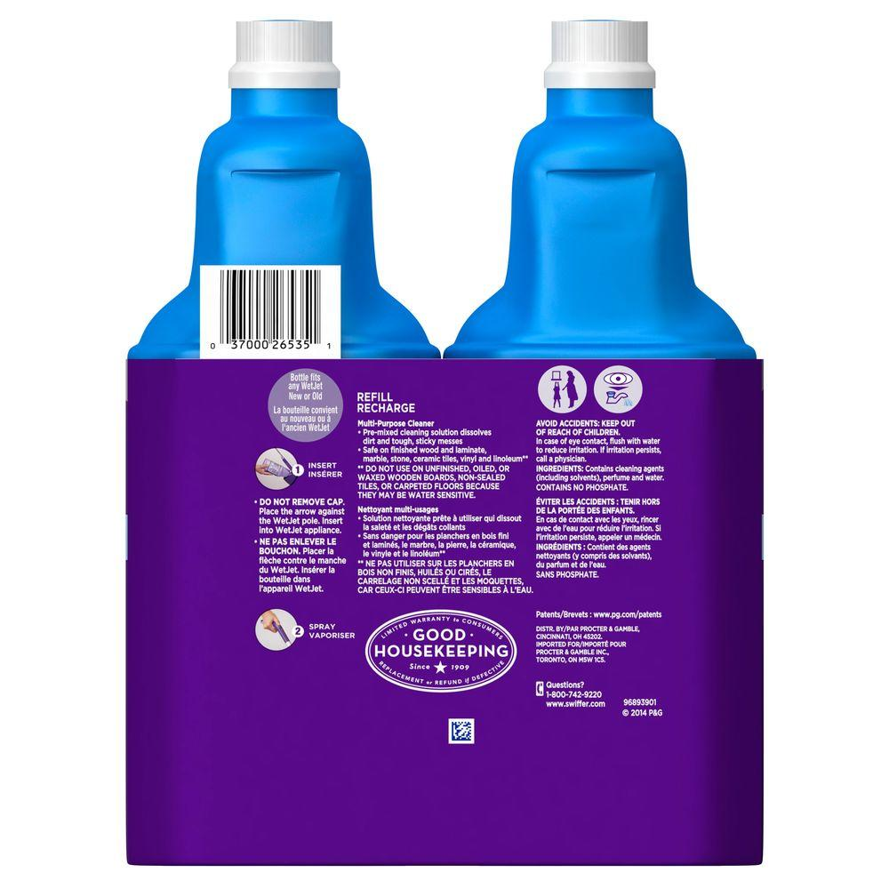 Multi Purpose Floor Cleaner Refill 42 Oz 2 Pack Open