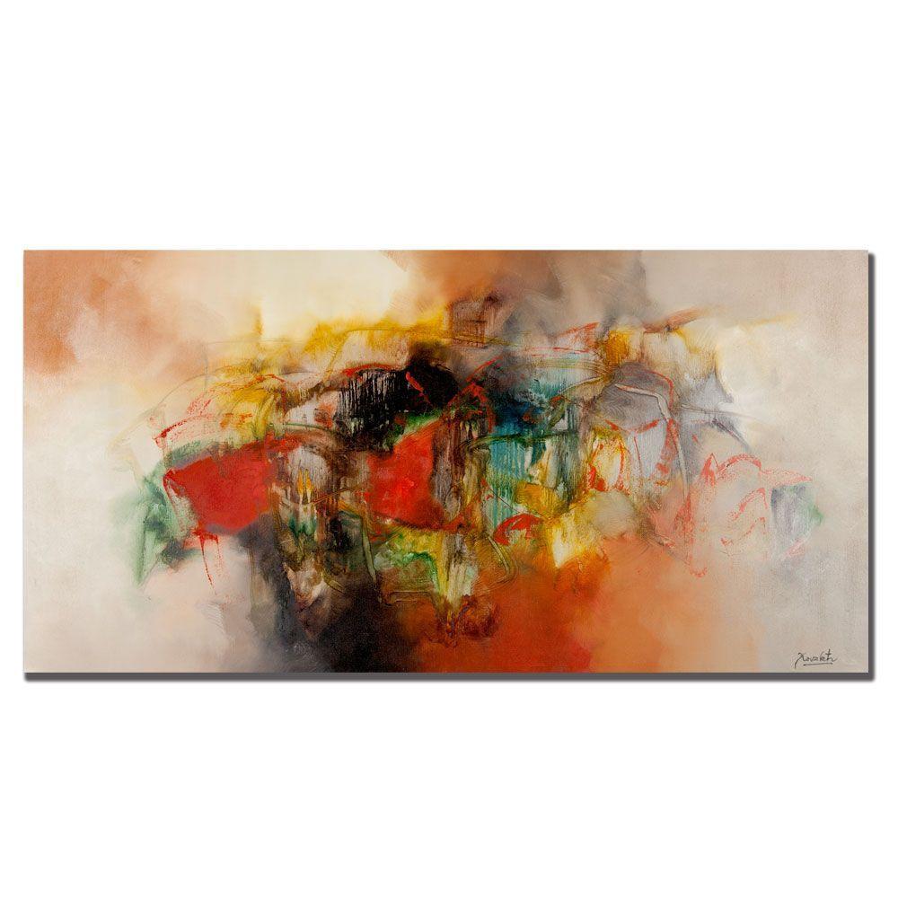 Trademark Fine Art 16 In. X 32 In. Abstract VI Canvas Art