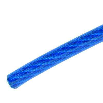 1/8 in. x 1 ft. Stainless Steel Plated Vinyl Coated Wire Rope