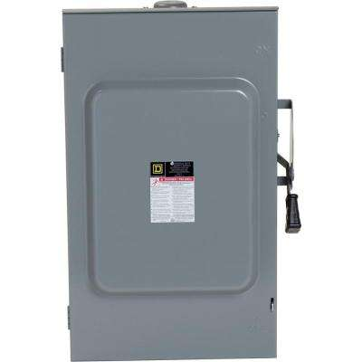 200 Amp 240-Volt 3-Pole 3-Phase Non-Fuse Outdoor General Duty Safety Switch