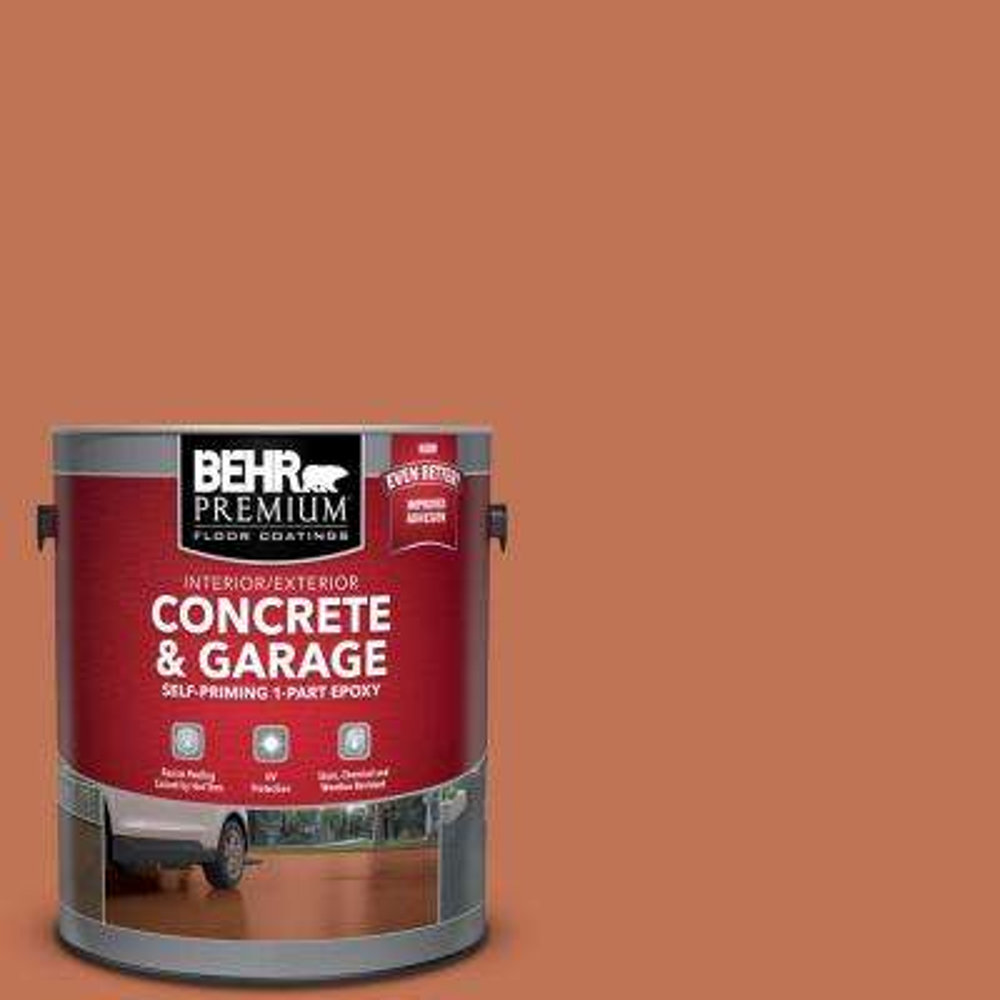 1 gal. #M200-6 Oxide Self-Priming 1-Part Epoxy Interior/Exterior Concrete and Garage Floor Paint