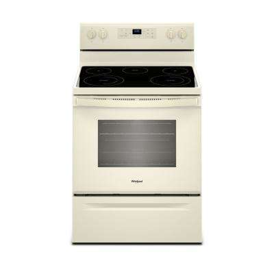 5.3 cu. ft. Electric Range with Self-Cleaning Oven in Biscuit