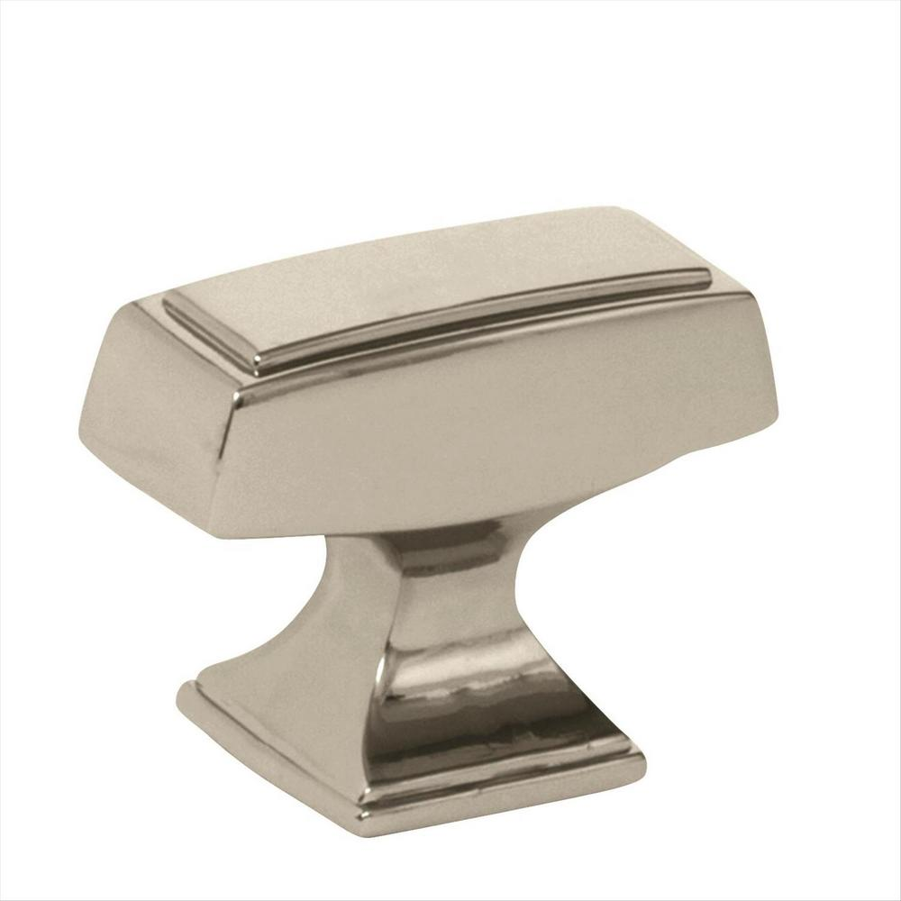 Mulholland 1-1/2 in. L (38 mm) Polished Nickel Cabinet Knob