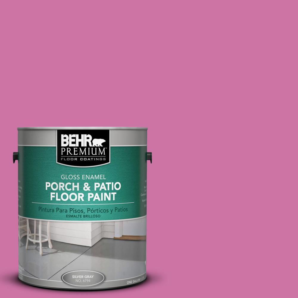 1 gal. #P120-4 Heart Breaker Gloss Porch and Patio Floor Paint