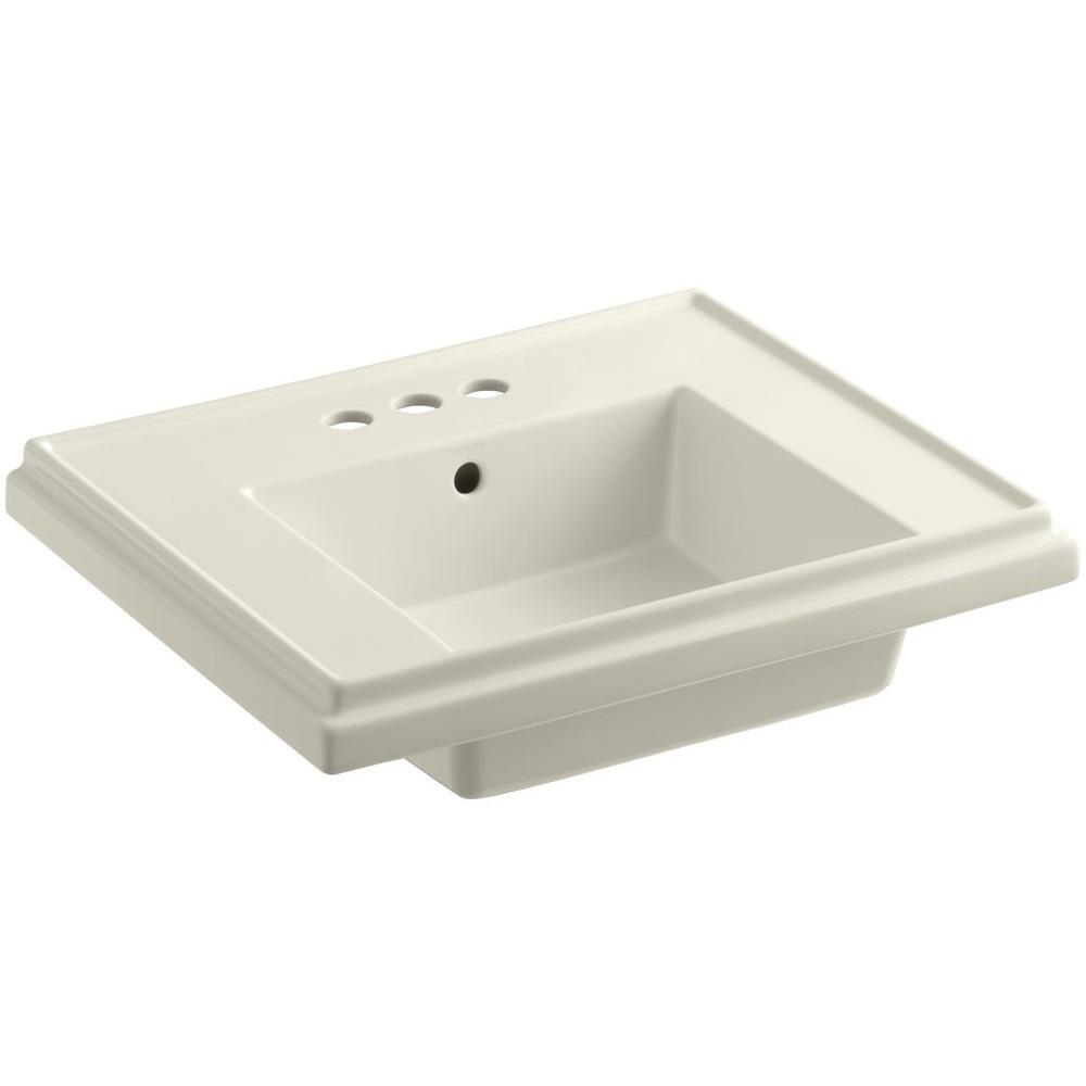 Tresham 24 In. Fireclay Pedestal Sink ...