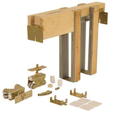 2000 Series 36 in. x 84 in. Pocket Door Frame for 2x4 Stud Wall