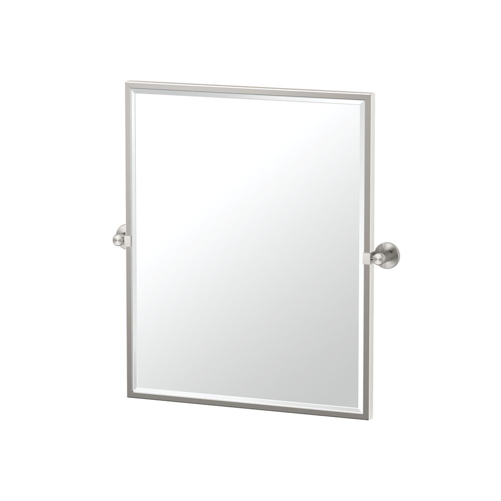 Single Framed Small Rectangle Mirror
