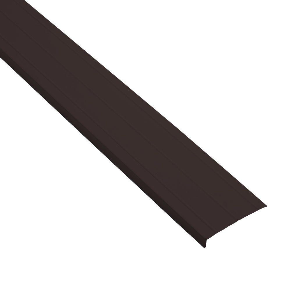 Gibraltar Building Products 6 In X 144 In Royal Brown Aluminum