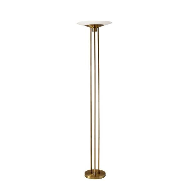 Adesso Floor Lamps Lamps The Home Depot