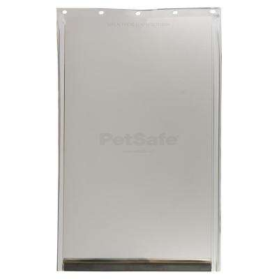 10.125 in. x 15.75 in. Large Replacement Pet Door Flap