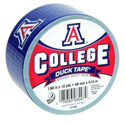 College 1-7/8 in. x 10 yds. University of Arizona Duct Tape