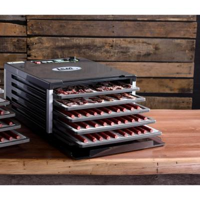 LEM-5-Tray Black Food Dehydrator with Built-In Timer