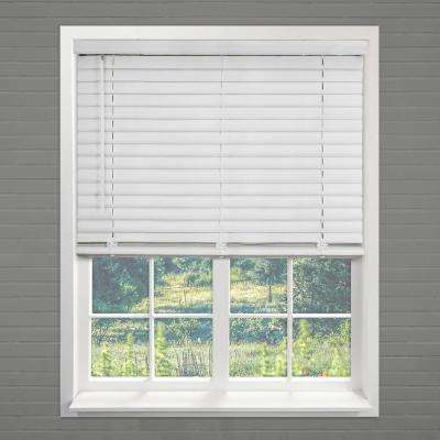 "Cordless Room Darkening 2 in. Vinyl Mini Blind, Perfect for Kitchen/Bedroom/Office & More- Pickled Oak-58""W X 64""L"