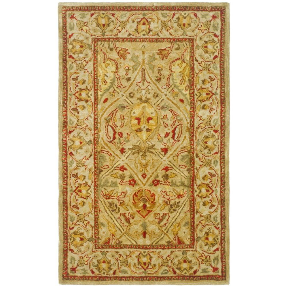 Safavieh Persian Legend Moss/Beige 3 Ft. X 5 Ft. Area Rug