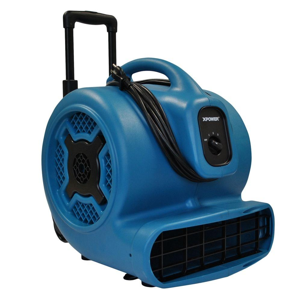 null X-830H 1 HP High Velocity Air Mover with Handle