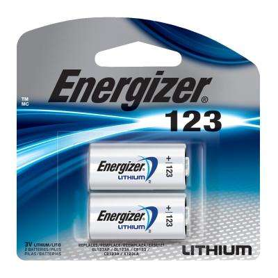 123 Lithium Battery (2-Pack)