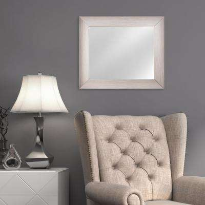 Leighton Rectangular Grey Vanity Mirror