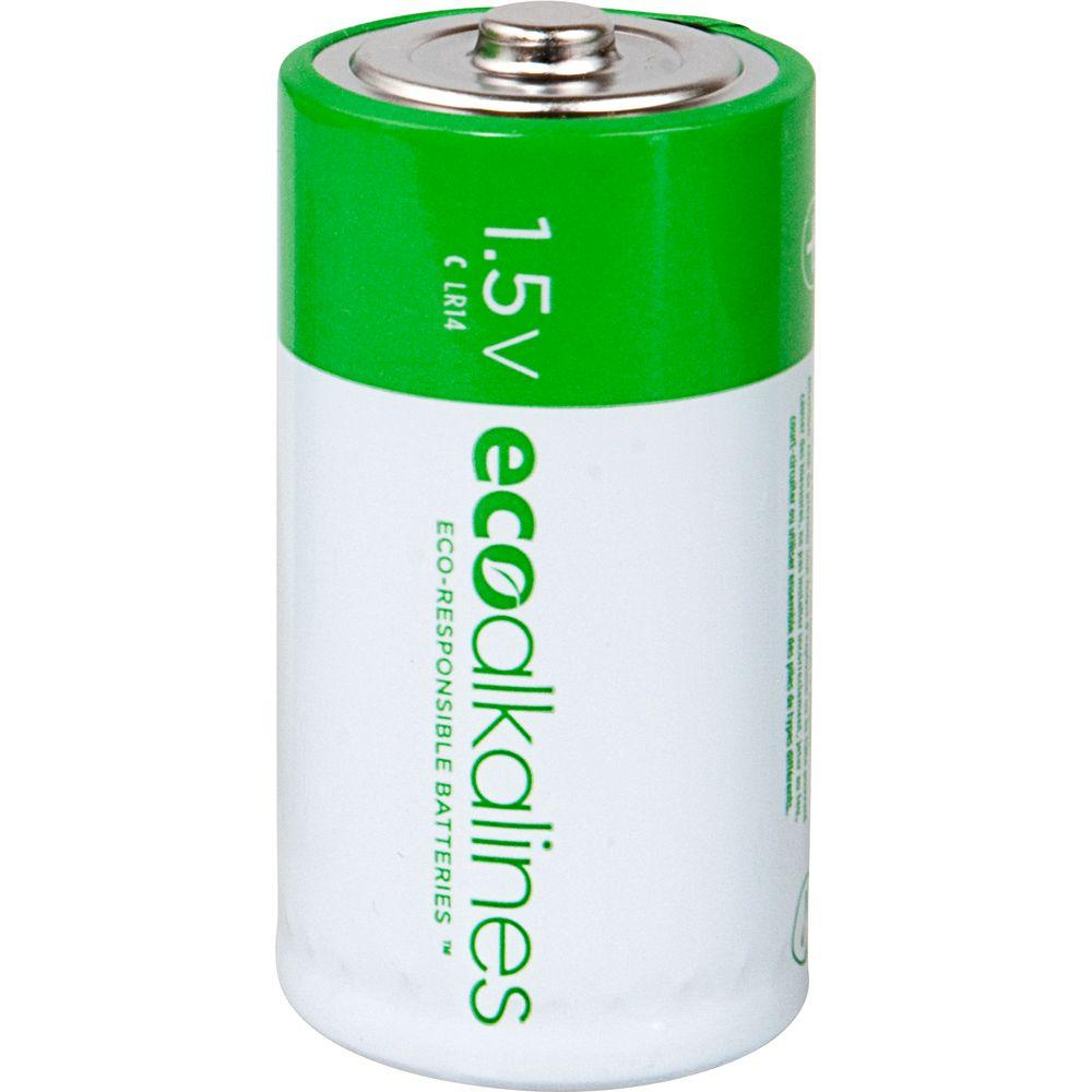 Eco Alkalines C Batteries (12-Pack)