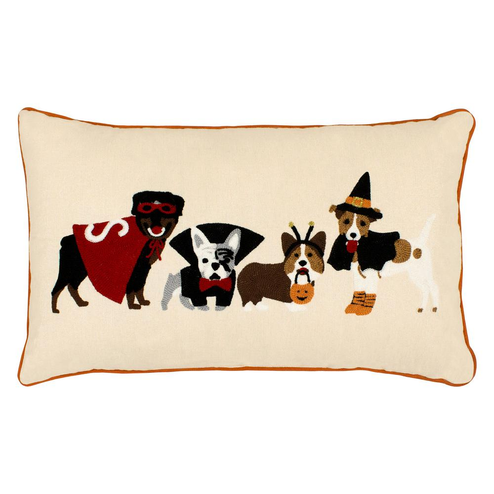 Creative Home Ideas Dog Costumes Embroidered Halloween 14 in. x 24 on gold pillow ideas, striped pillow ideas, animal print pillow ideas, handmade pillow ideas, denim pillow ideas, flower pillow ideas, chenille pillow ideas, monogram pillow ideas, decorative pillow ideas, modern pillow ideas, pink pillow ideas, knitted pillow ideas, fleece pillow ideas, sewn pillow ideas, crochet pillow ideas, elegant pillow ideas, pillow cover ideas, bath pillow ideas, felt pillow ideas, stitched pillow ideas,