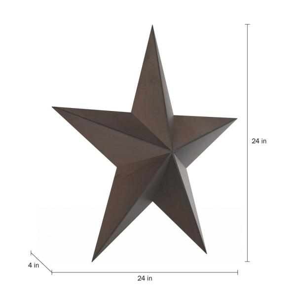 Cabilock Christmas Metal Star Wall Decorations Iron Barn Star Wall Art Sculpture Vintage Christmas Garden Home Wall Hanging Decoration Blue