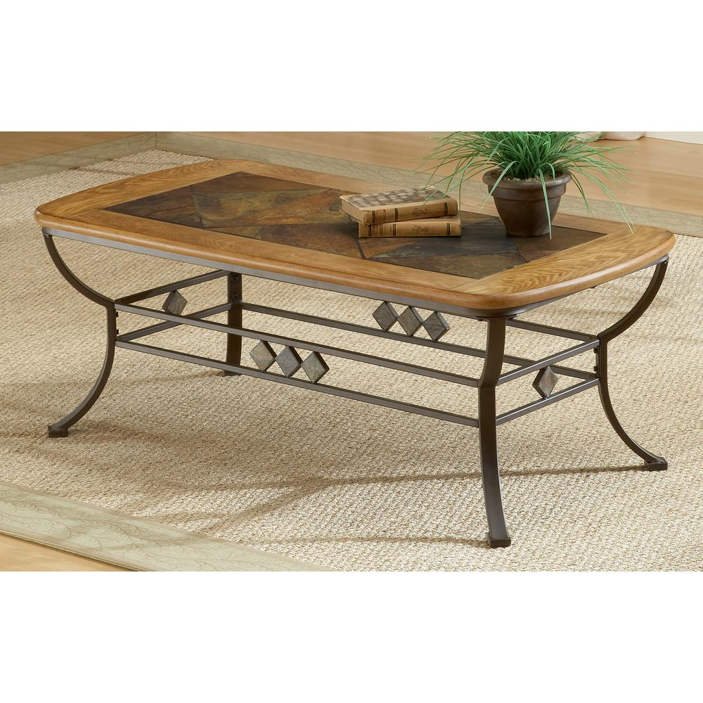 Lakeview Brown Coffee Table