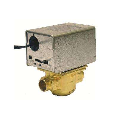 Tradeline 24-Volt 50/60 Hz 3/4 in. ID Sweat 2 Position Motorized Zone Valve