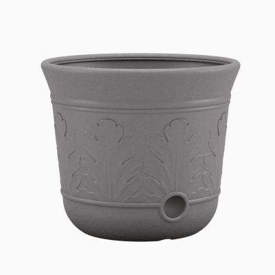 Grey Resin Hose Pot