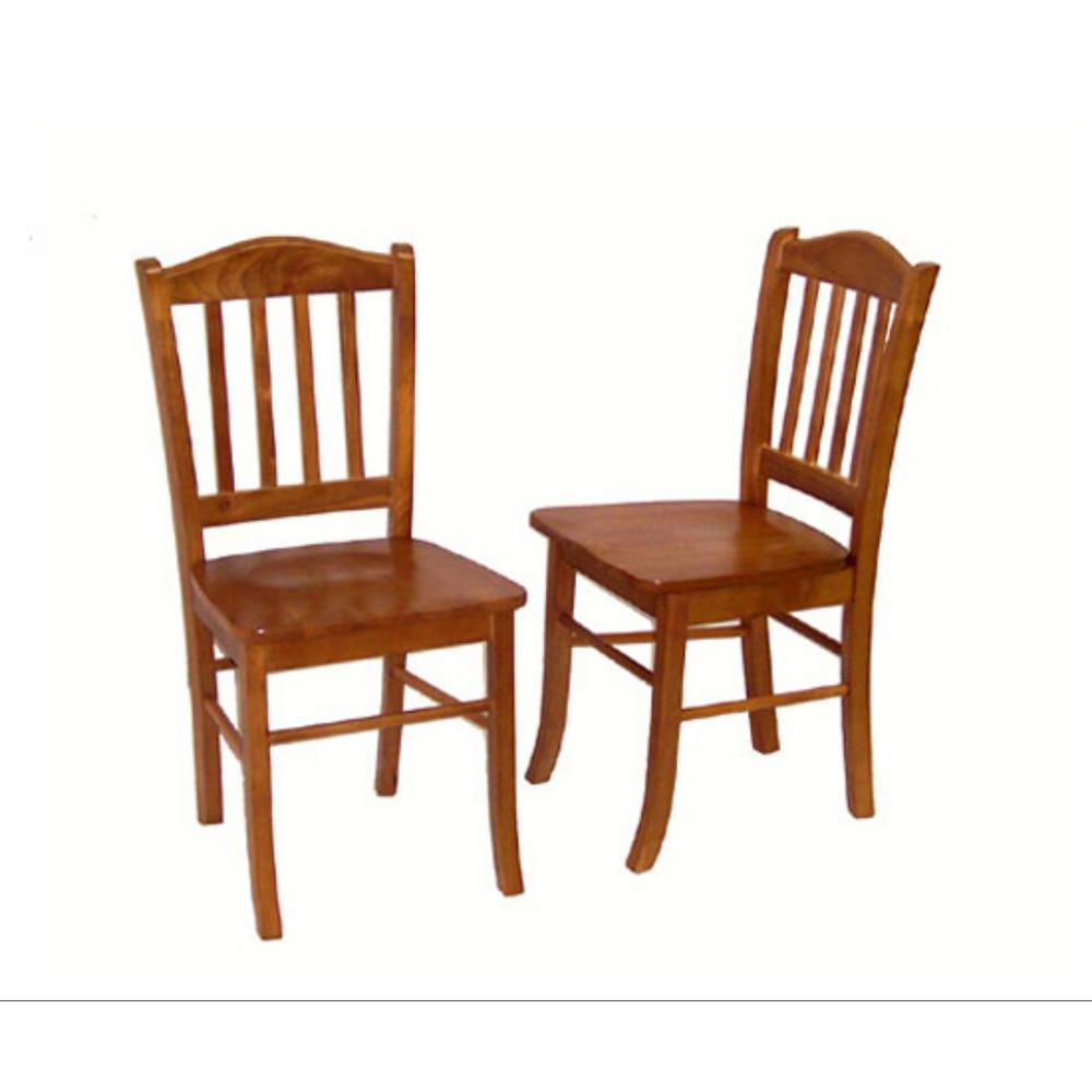 Boraam Oak Shaker Dining Chair (Set Of 2)
