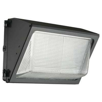 Dark Bronze Outdoor Integrated LED 5000K Wall Pack Light