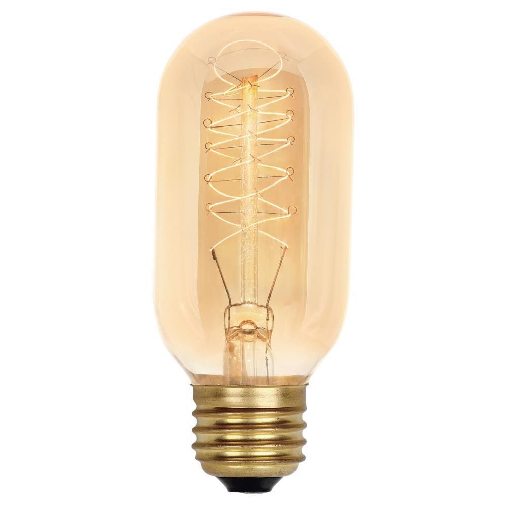 40-Watt T14 Timeless Vintage Inspired Incandescent Light Bulb