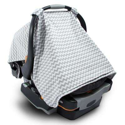 2-in-1 Baby Blanket Car Seat Cover and Nursing Blanket