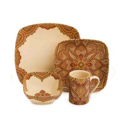 Spice Road 16-Piece Dinnerware Set