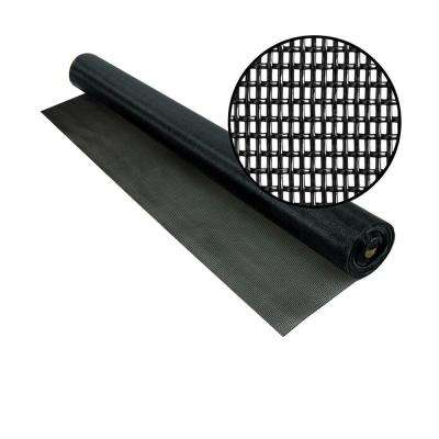96 in. x 50 ft. Black Pet Screen