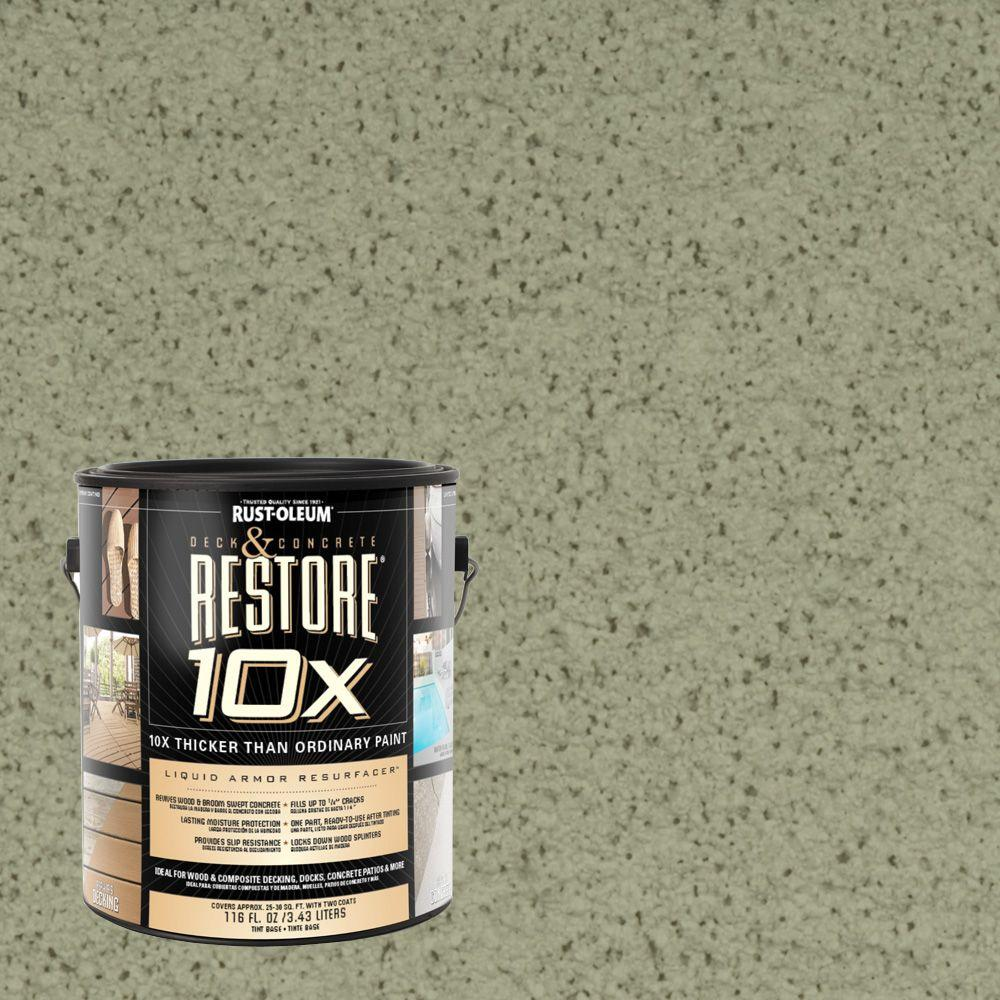 Rust-Oleum Restore 1-gal. Marsh Deck and Concrete 10X Resurfacer