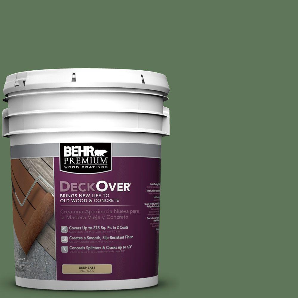 5 gal. #SC-126 Woodland Green Wood and Concrete Coating