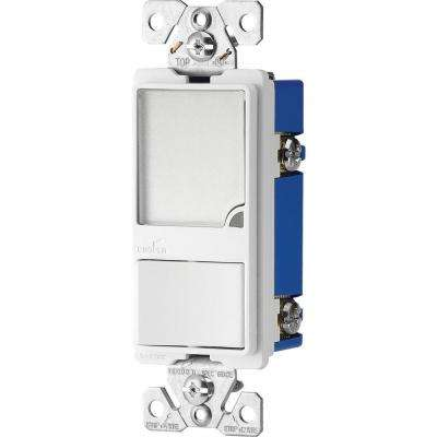 15 Amp 120-Volt Combination Switch with 1-Watt LED Nightlight, White