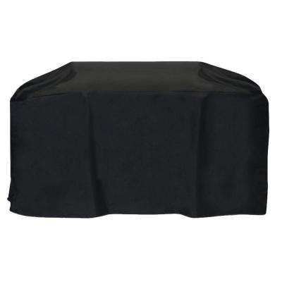88 in. Cart Style Grill Cover in Black