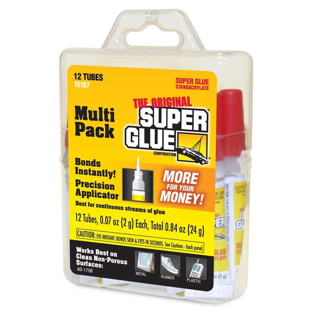 Super Glue 0.07 oz. Glue (Six 12-Packs)