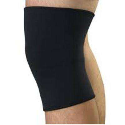 Large Neoprene Pull-Over Knee Support with Closed Patella