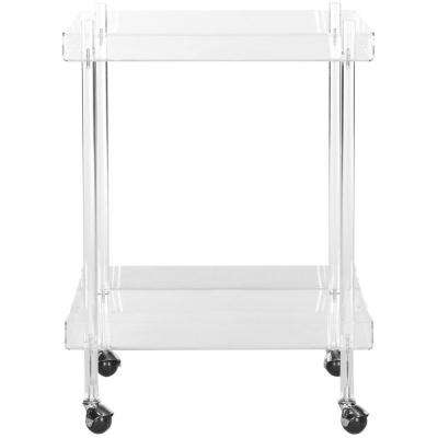 Healy Clear Serving Cart