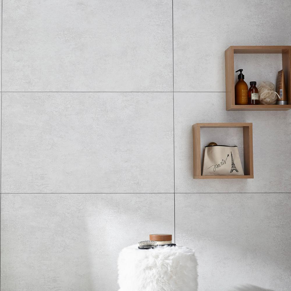 14.76 in. x 25.59 in. Ocean Fog Wall Tile Backsplash