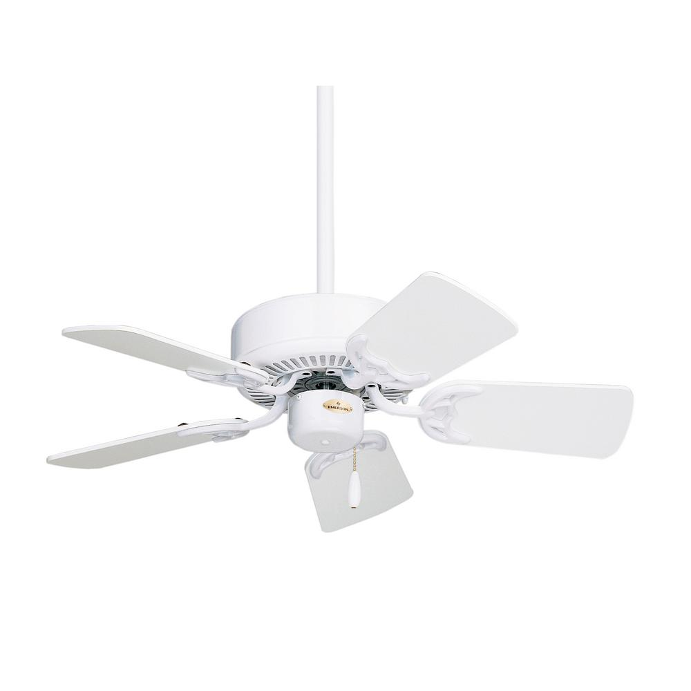 Ge Kinsey 44 In Led Indoor White Ceiling Fan With Skyplug