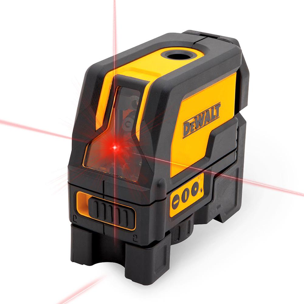 Dewalt Self Leveling Cross Line And Plumb Spots Laser
