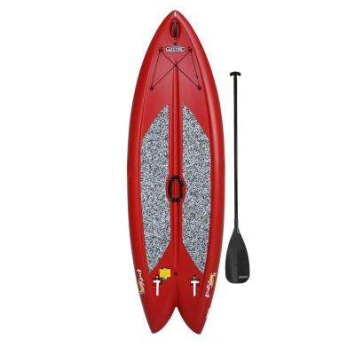 Lifetime Red Freestyle Paddleboard with Paddle